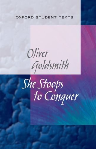 new-oxford-student-texts-goldsmith-she-stoops-to-conquer-by-diane-maybank-25-mar-2013-paperback