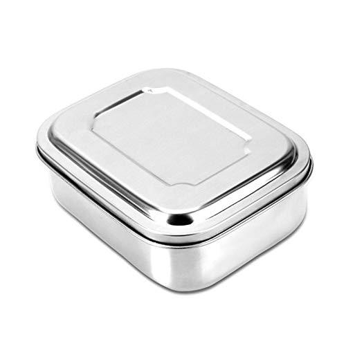 ShopSquare64 Boã®Te à Lunch en Acier Inoxydable de 16/18 / 22cm 3 récipients de Nourriture de Pique-Nique de Vaisselle de Grille