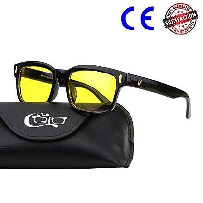 CGID CY84 Gafas para Protección contra Luz Azul...