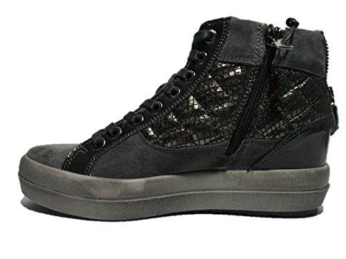 IGI&CO donna sneakers con piattaforma 48031/00 Antracite
