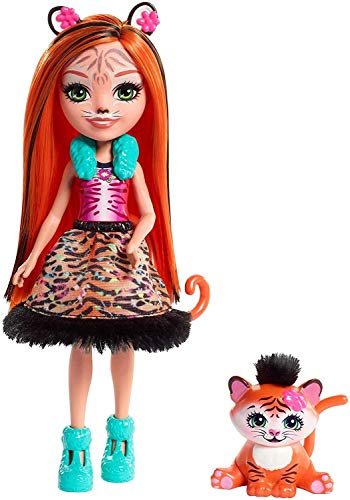 Tigermädchen Tanzie Tiger Puppe ()