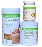 Herbalife Weight Loss Package: Formula1(Chocolate)+Personalized Protein Powder(PPP)+Afresh( ) (Lemon)