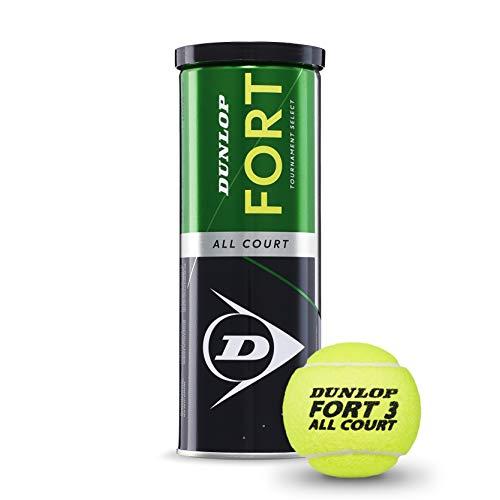 DUNLOP Fort Tutte Le TS-Confezione da 3 Palline da Tennis