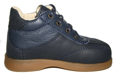 Bundgaard BU-121 Unisexe - Enfants Chaussures Bottines Bleu Foncé (Marine)