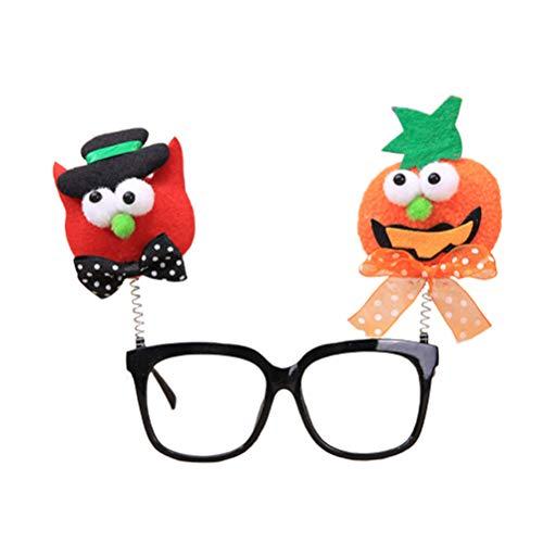 Amosfun lustige Halloween Brille Kunststoff Party Brille Halloween Cosplay kostüm Requisiten (kürbis Katze) (Wirklich Lustige Halloween-fotos)