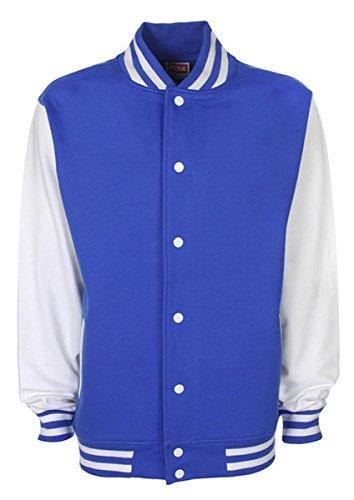 OK Hand Emoji Varsity Jacket - Blau - 3/4 Jahre