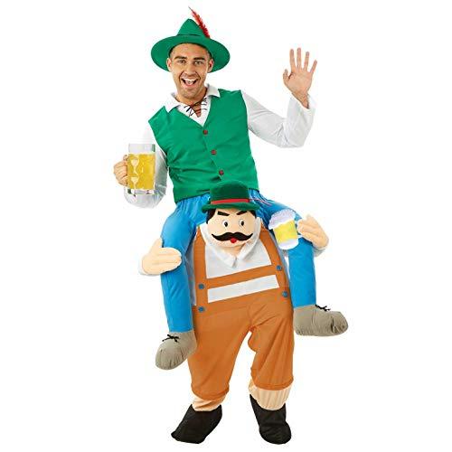 Adult Kostüm Fun - Fun Shack Herren Costume Kostüm, Adults Lift Me Up Bavarian, Einheitsgröße