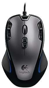 Logitech G300 Gaming Maus schnurgebunden grau-schwarz