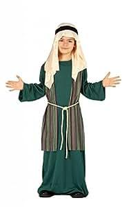 Costume pastorello arabo verde giudeo Presepe vivente bambino 5/6 anni