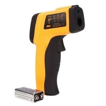 WINGONEER IR Laser Infrarouge Sans Contact Digital Thermomètre Thermometer Gun