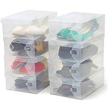cajas zapatos transparentes