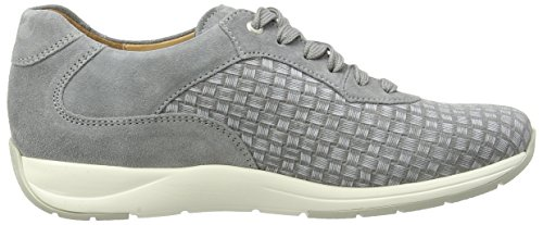 Ganter Gianna, Weite G, Baskets Basses femme Gris - Gris pierre (6800)