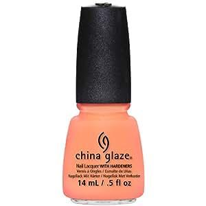 China Glaze Vernis à Ongles Effet Laqué Sun Of Peach 14 ml