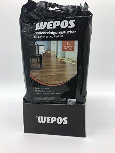 Wepos (0,10€/Tuch) Boden-Reinigungstuecher-fuer-Laminat-Parkett-Reiniger