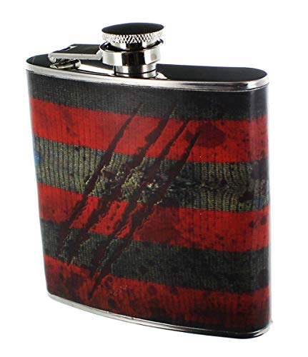 A Nighmare on ELM Street Freddy Krueger Flask