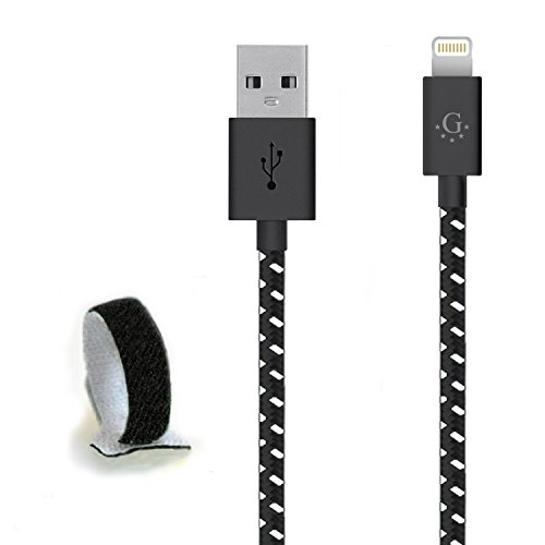 Die # 1 spezifische Nylon geflochten Go Beyond (TM) 10 Feet 8 pin iPhone 5/6 6S USB-Synchronisations-/Ladekabel für iPhone 6S/6S Plus, iPhone 6/6 Plus, iPhone 5/5S/5 C, iPad Mini, iPod Touch 5. Generation (Versand in Selben Tag, kompatibel mit neuen IOS) (G Moto Für Motorola Tracfone)