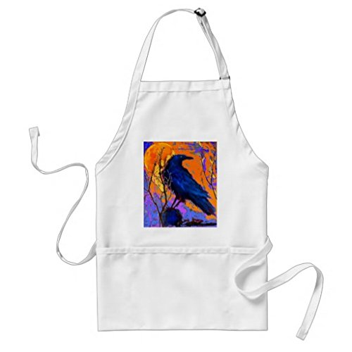 mystic-blue-raven-moon-by-sharles-adult-apron