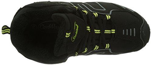 Conway 600326, Scarponcini da camminata Unisex - adulto Nero (Schwarz (schwarz/grün))