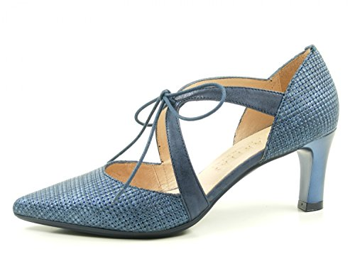 Hispanitas Honey HV74902 Schuhe Damen Pumps, Schuhgröße:40;Farbe:Blau