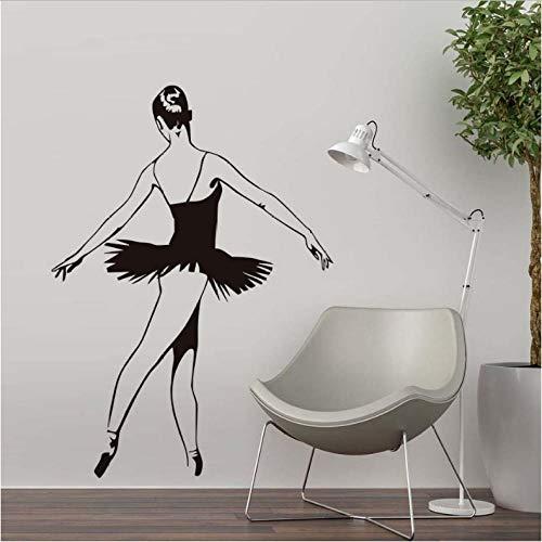 Tanz Kostüm Und Künstlerischer - 58x82cmBallett Kostüme TanzWandaufkleberPVC Wohnkultur Ballerina Wand Schlafzimmer Wohnkultur modern