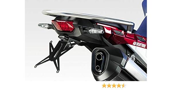 Noir Rouge Or Kit Complet Adh/ésifs 3D pour Moto Compatible Honda Africa Twin Adventure 1100 L