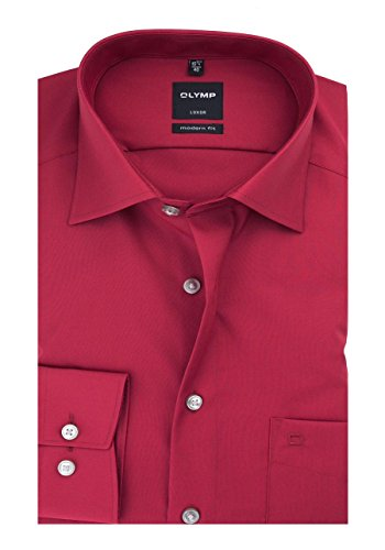 OLYMP - Chemise casual - Homme 35 mittelrot