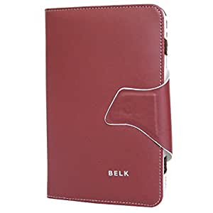 Jo Jo Belk Flip Flap Case Cover Pouch Carry For Toshiba Thrive 7 Cherry