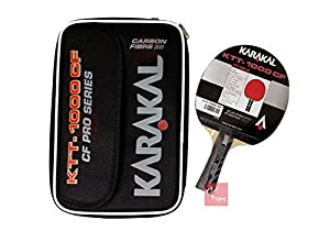Karakal KTT-1000 CF Pro Series Table Tennis Bat Review 2018