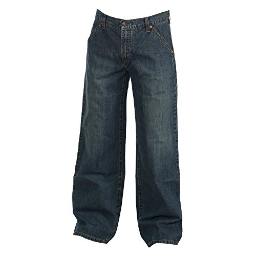 Levis Herren Jeans, Herrenjeans, Damen Jeans 587 Loose, Low Fit, Midblue 587.82.10, Größe:W31/L30 (Fit Levis Loose Jeans)