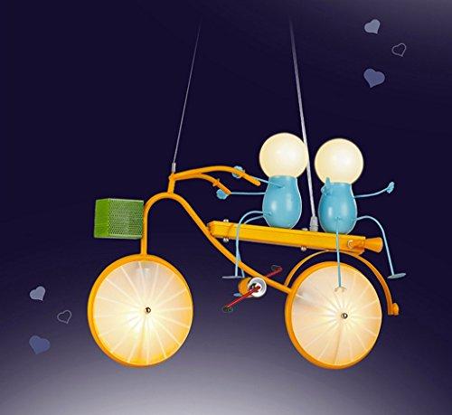 Kronleuchter zu Hause personalisierte Kronleuchte Persönlichkeit Fahrrad Kind Kronleuchter Schlafzimmer Jungen-Raum-Leuchten Moderne Minimalist Kreative LED-Leuchten - 5
