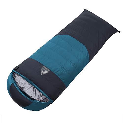 Lw outdoor Sac de Couchage extérieur Sacs de Couchage de randonnée Ultra-légers en Plein air, Camping en Plein air, Hiver, Canard, Sacs de Couchage pour Adultes, 4 Couleurs 210 * 80 cm