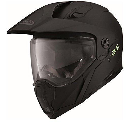 Caberg X-Trace casco de la motocicleta, color negro mate