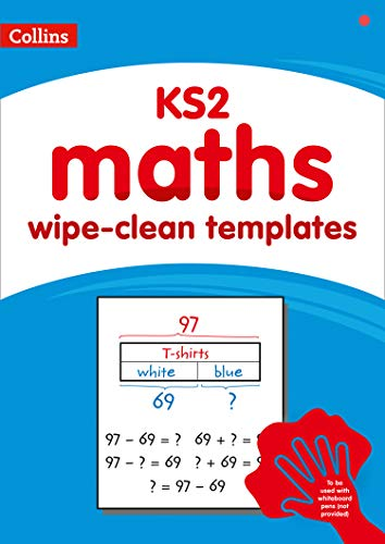 Collins - KS2 wipe-clean maths templates