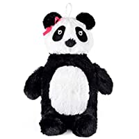 SlumberzzZ Panda 3D Novelty Plush Fleece 0.75 Litre Hot Water Bottle