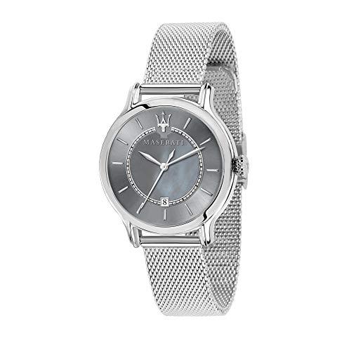 Maserati Reloj Analógico para Mujer de Cuarzo con Correa en Acero Inoxidable R8853118508