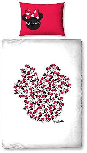 Disney MINNIE MOUSE Icon Single Print Design Duvet Set, Multi-Colour