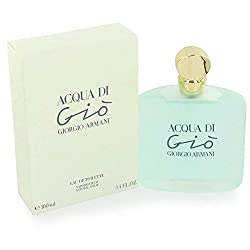 Acqua Di Gio By Giorgio Armani For Women. Eau De Toilette Spray 3.4 Ounces