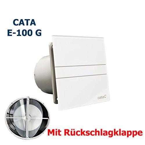 /CATA E-100G-Ventilatore da bagno Standard con valvola di non ritorno.