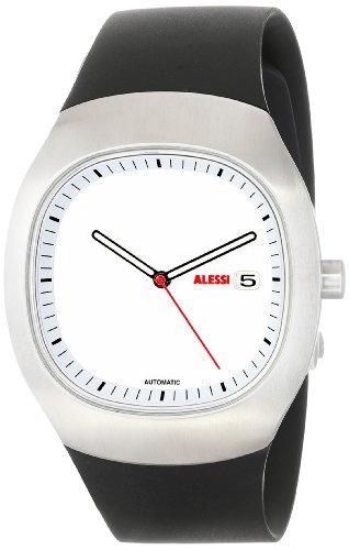 Alessi - AL21000 - Montre Mixte - Automatique - Analogique - Bracelet Plastique Argent