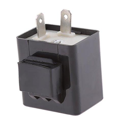 faccdd29c9d MagiDeal Relé Intermitente para LED Indicador de Velocidad Ajustable 2 pines  de.