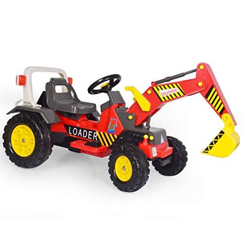 ZN-car model toy Coche de Juguete eléctrico para niños, Excavadora/niveladora eléctrica, Muy Adecuada para el Juego de imaginación de los...