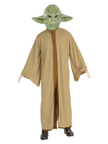 Herren Für Kostüm Erwachsene Wars Yoda Star - Star Wars Yoda Herren Kostüm Größe XL zu Karneval Fasching u. Halloween