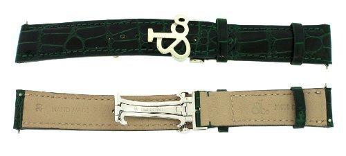 jacob-co-krokodilleder-optik-echtleder-dunkelgrun-20-mm-x-40-mm-watch-strap