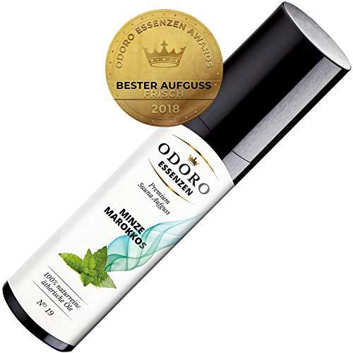 Saunaaufguss Duft Minze Marokkos - 100% ätherische Öle - Premium Aufguss Konzentrat (100ml) - Natürliches Aufgussmittel, naturreine Saunaaufgüsse -