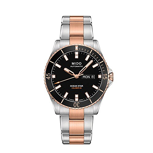 Mido Men's Ocean Star Captain 42mm Two Tone Automatic Watch M026.430.22.051.00