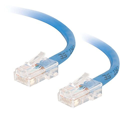 CABLESTOGO Cables to Go 83298 Category 5E Crossover Patch Kabel (350MHz, 1m) blau -