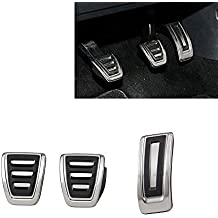 Aluminio Pedal tapas para golf 7 Pedal de freno VII GTI R MK7 A7 coche deportivo
