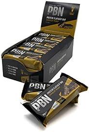 PBN High Protein Flapjack Barrette Proteiche Flapjack, Cioccolato e Arachidi, 50 g (Confezione da 12)