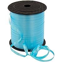 Cdet Rollo de cinta rizada cinta de globos decoración de fiesta y festival, envoltura de manualidades y regalo(Cielo azul)
