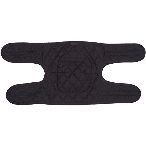 Modeka Kniewärmer - schwarz Größe L-XL